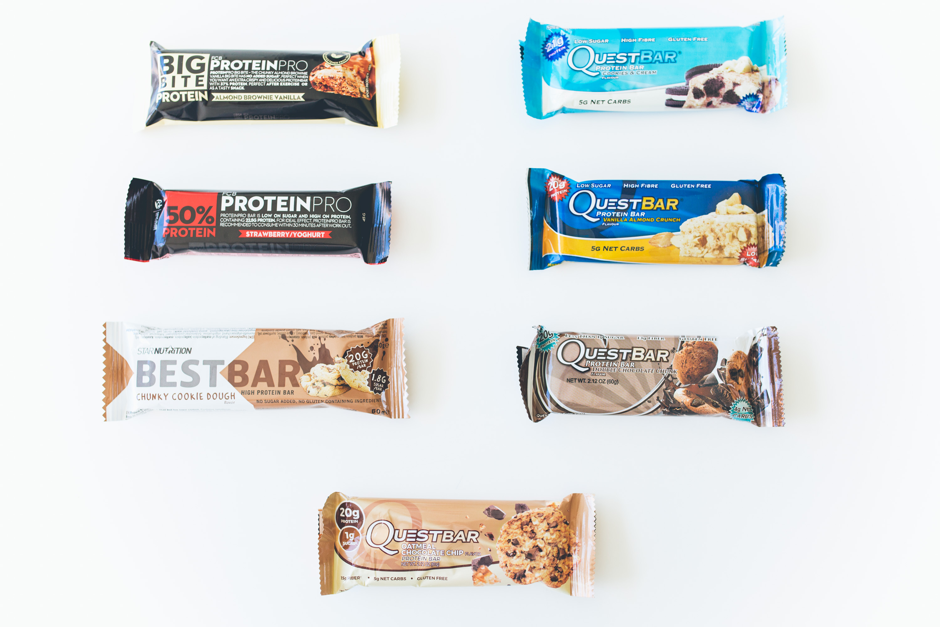 protein bars bäst i test